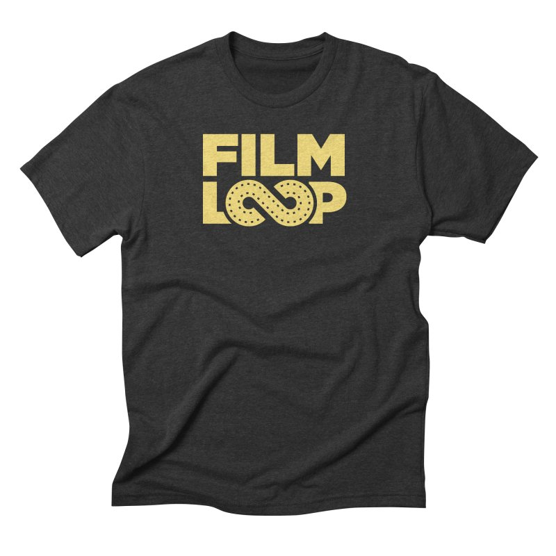 Film Loop Yellow Men's Triblend T-Shirt by Film Loop Show