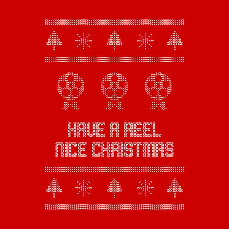 Reel Nice Ugly Christmas Sweater Men's Sweatshirt by Film Loop Show