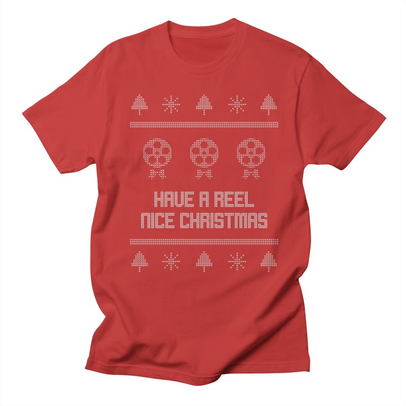 Reel Nice Ugly Christmas Sweater Men's Regular T-Shirt by Film Loop Show