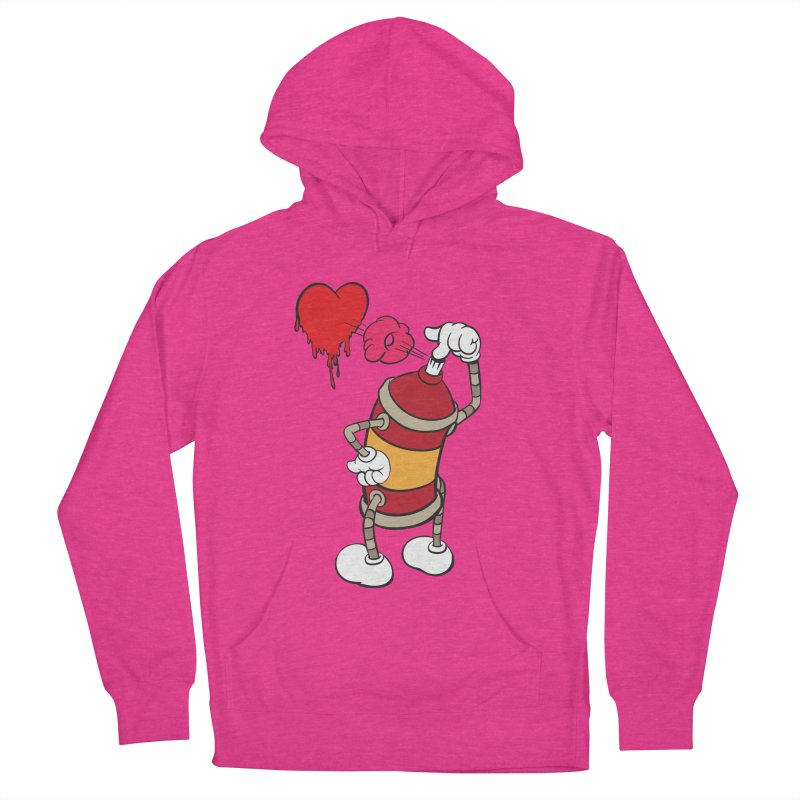 Spray Can Love Women's Pullover Hoody by filsoofdesigns's Artist Shop