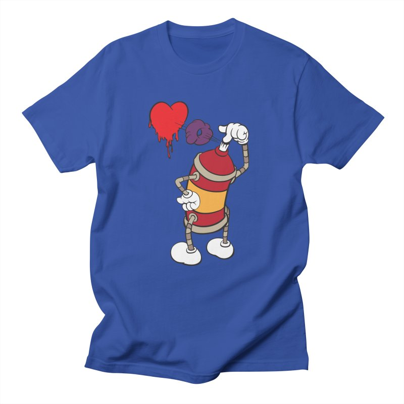 Spray Can Love Men's T-Shirt by filsoofdesigns's Artist Shop