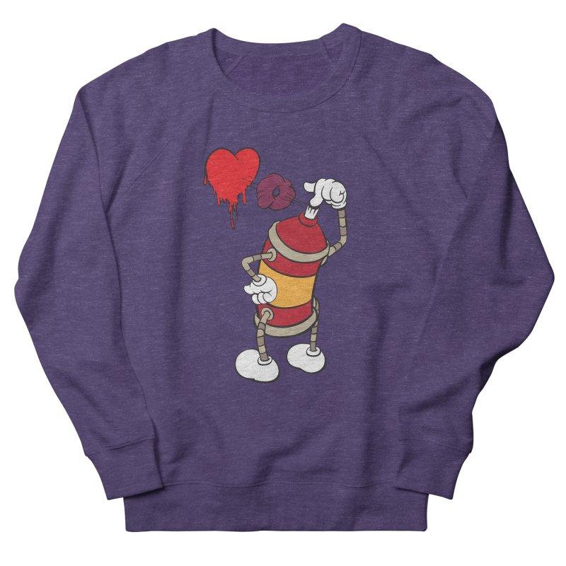 Spray Can Love Women's Sweatshirt by filsoofdesigns's Artist Shop