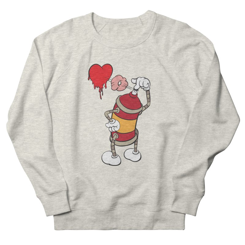 Spray Can Love Men's Sweatshirt by filsoofdesigns's Artist Shop