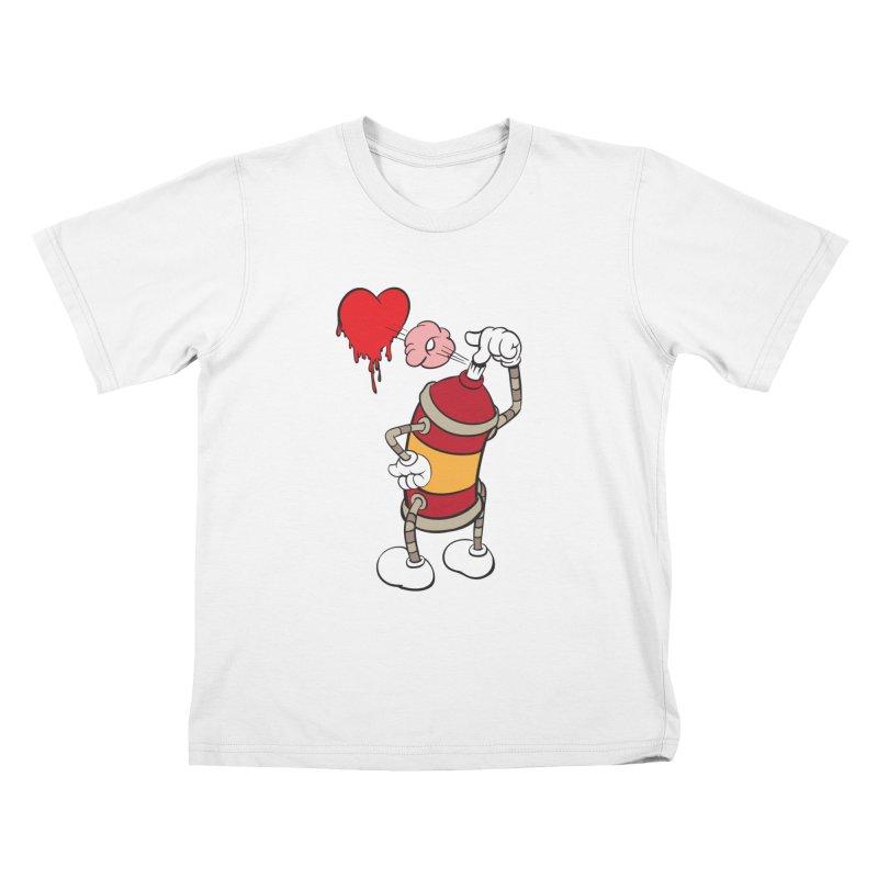Spray Can Love Kids T-shirt by filsoofdesigns's Artist Shop