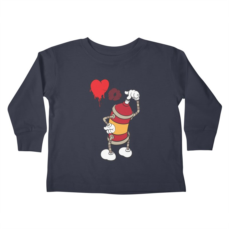 Spray Can Love Kids Toddler Longsleeve T-Shirt by filsoofdesigns's Artist Shop