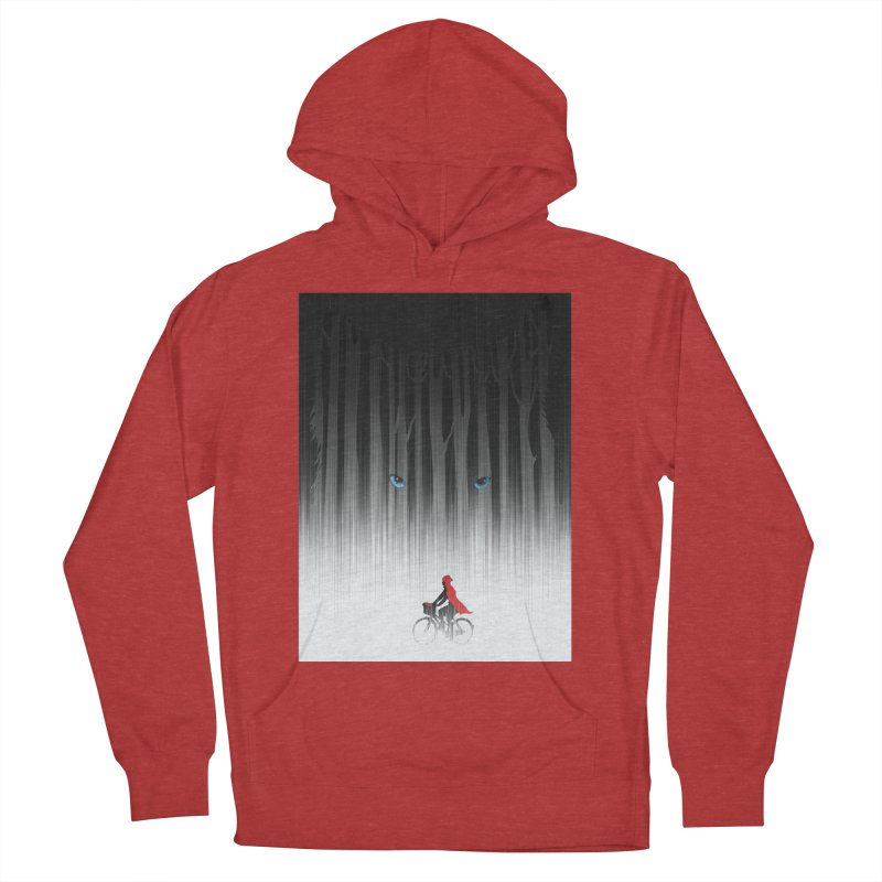 Red Riding Hood Women's Pullover Hoody by filsoofdesigns's Artist Shop