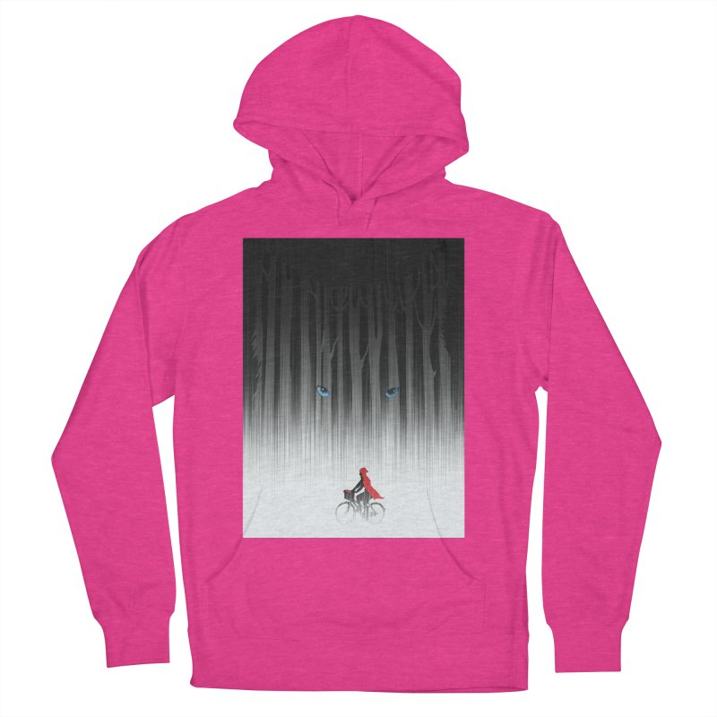 Red Riding Hood Men's Pullover Hoody by filsoofdesigns's Artist Shop