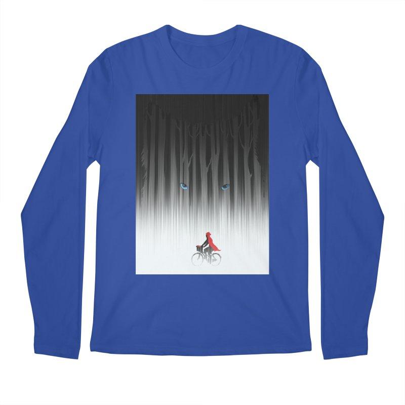 Red Riding Hood Men's Longsleeve T-Shirt by filsoofdesigns's Artist Shop