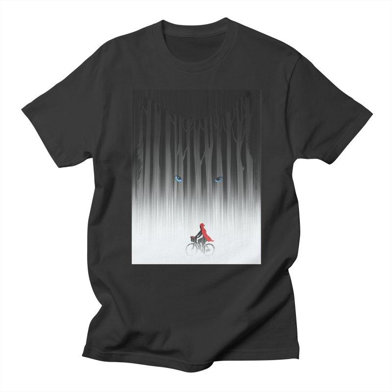 Red Riding Hood Men's T-Shirt by filsoofdesigns's Artist Shop
