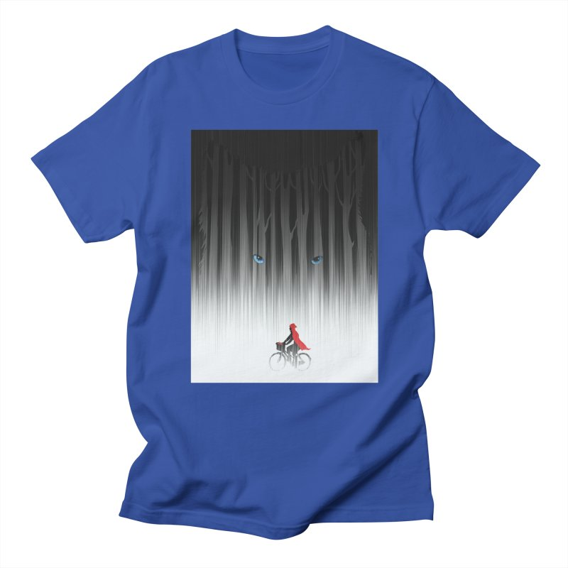 Red Riding Hood Men's T-Shirt by filsoofdesigns's Artist Shop