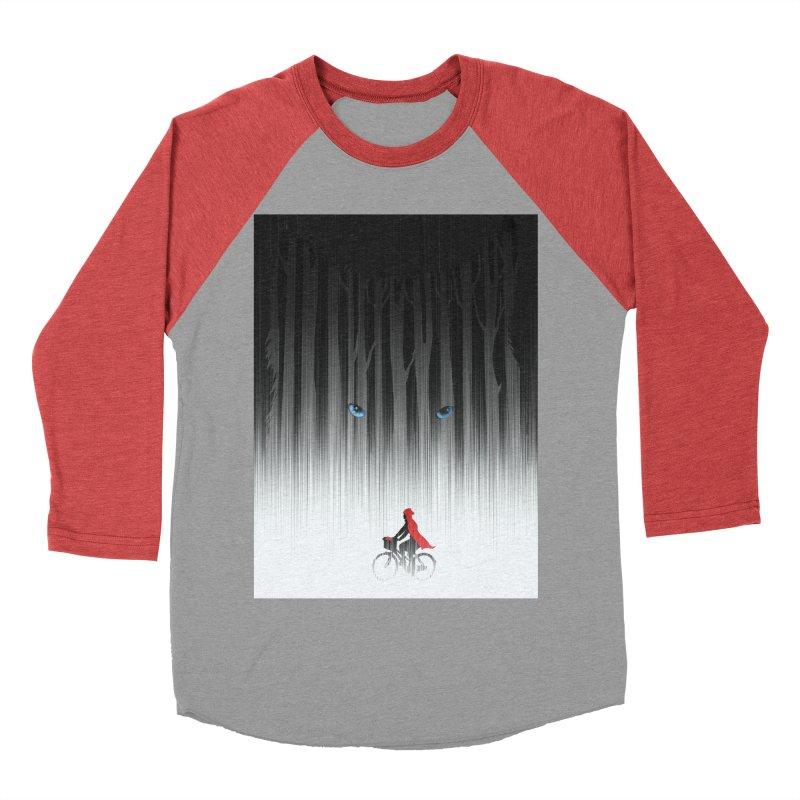 Red Riding Hood Women's Baseball Triblend T-Shirt by filsoofdesigns's Artist Shop