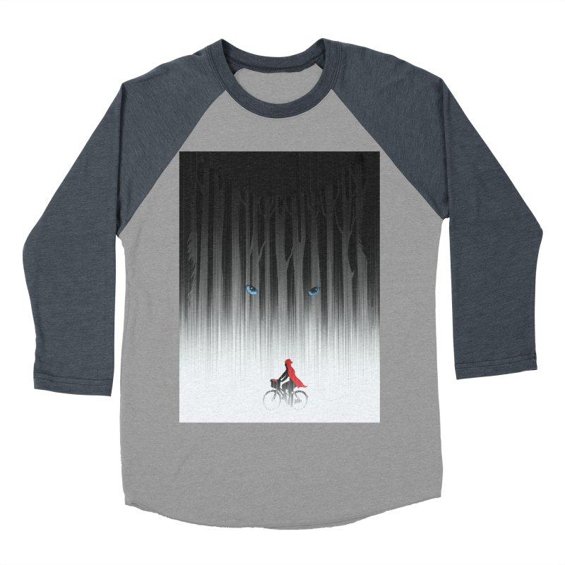 Red Riding Hood Men's Baseball Triblend T-Shirt by filsoofdesigns's Artist Shop