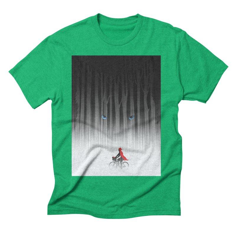 Red Riding Hood Men's Triblend T-shirt by filsoofdesigns's Artist Shop