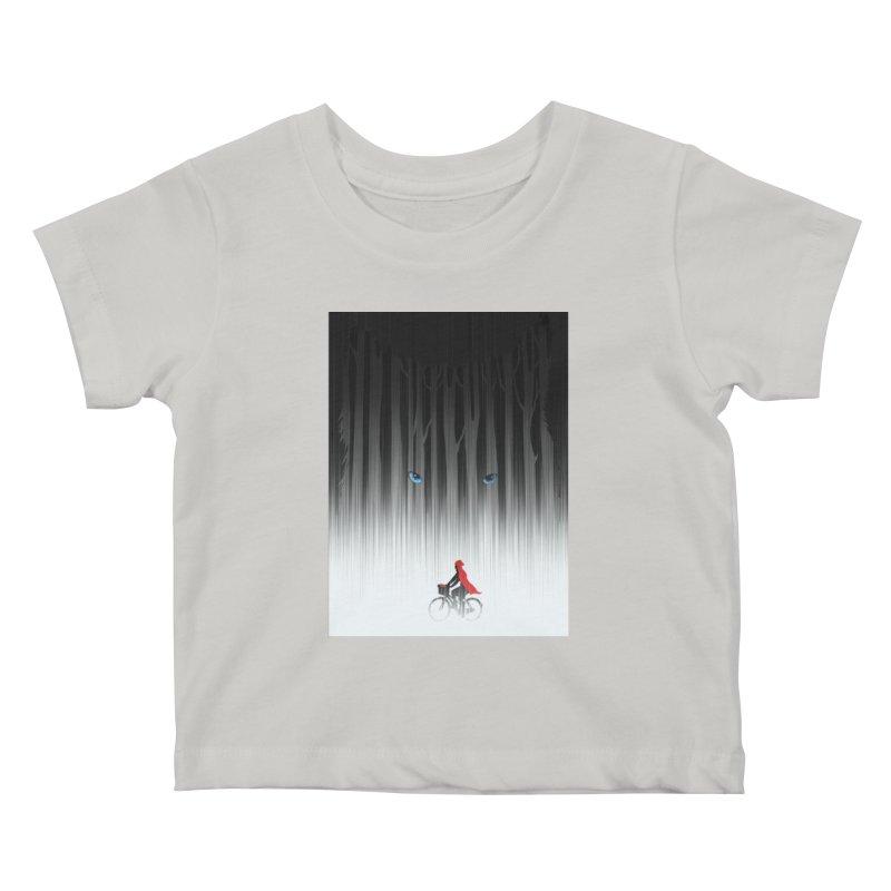 Red Riding Hood Kids Baby T-Shirt by filsoofdesigns's Artist Shop