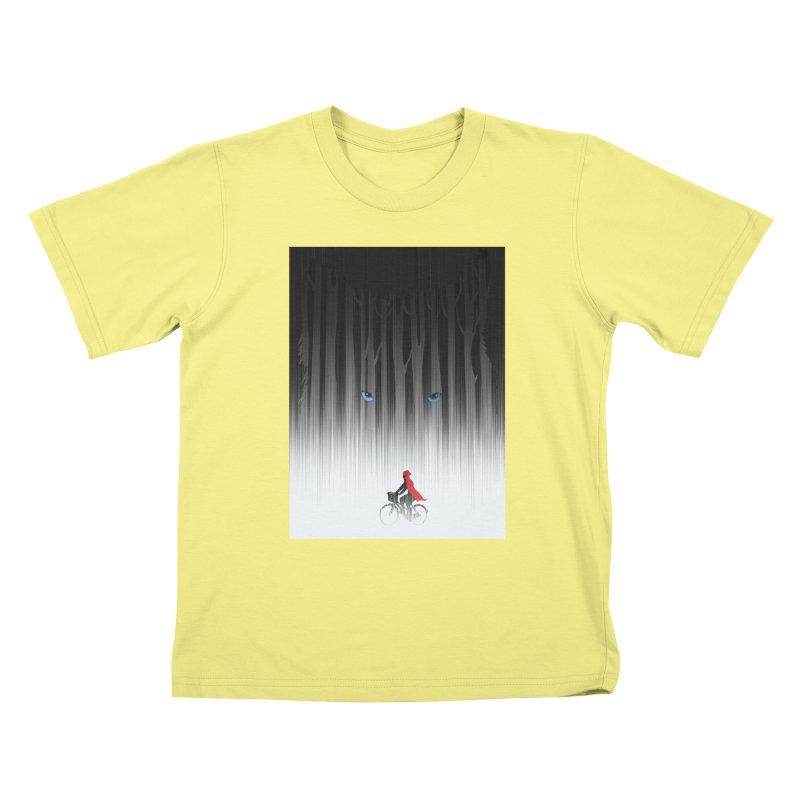 Red Riding Hood Kids T-shirt by filsoofdesigns's Artist Shop