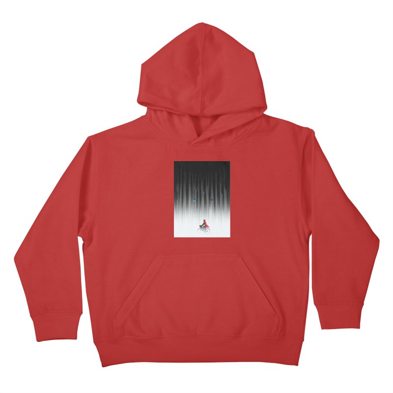 Red Riding Hood Kids Pullover Hoody by filsoofdesigns's Artist Shop