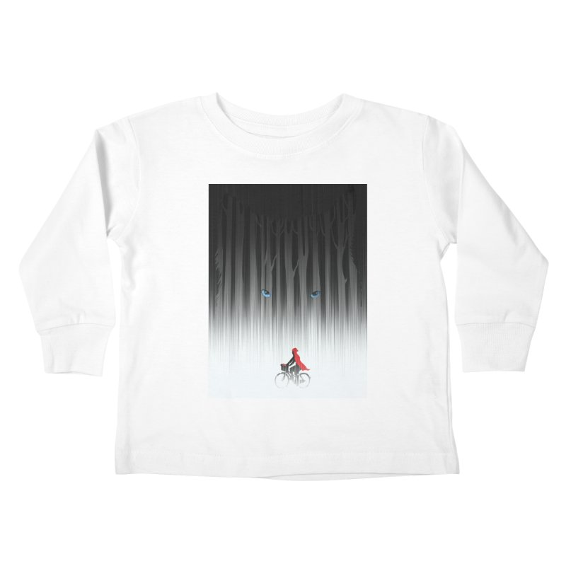 Red Riding Hood Kids Toddler Longsleeve T-Shirt by filsoofdesigns's Artist Shop