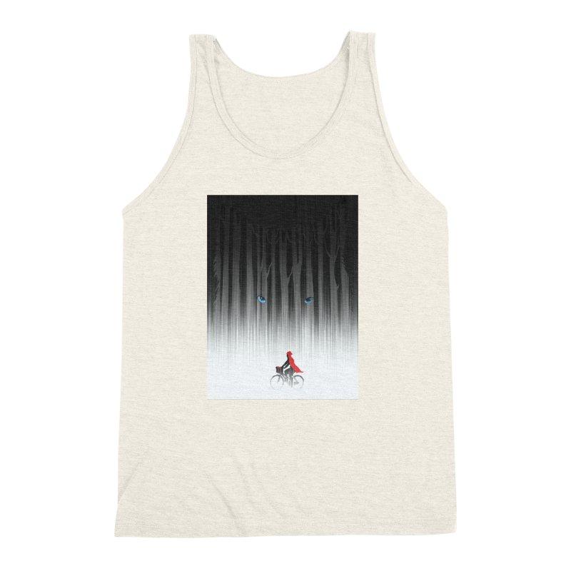 Red Riding Hood Men's Triblend Tank by filsoofdesigns's Artist Shop