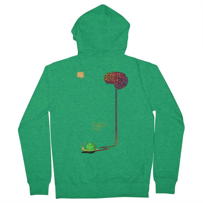 Creativity is Intelligence having fun Men's Zip-Up Hoody by filsoofdesigns's Artist Shop