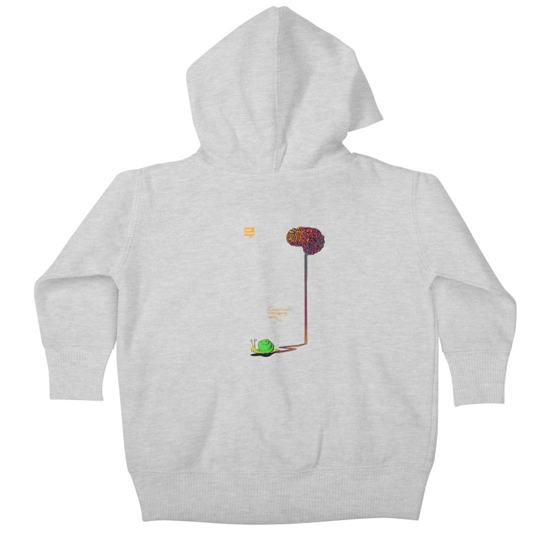 Creativity is Intelligence having fun Kids Baby Zip-Up Hoody by filsoofdesigns's Artist Shop
