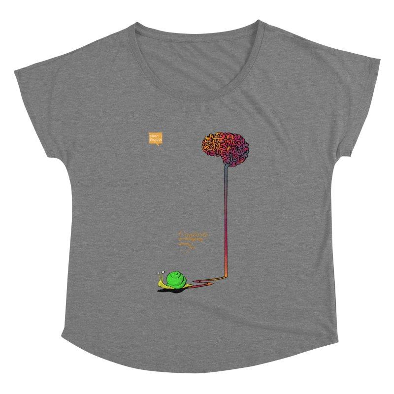 Creativity is Intelligence having fun Women's Dolman by filsoofdesigns's Artist Shop