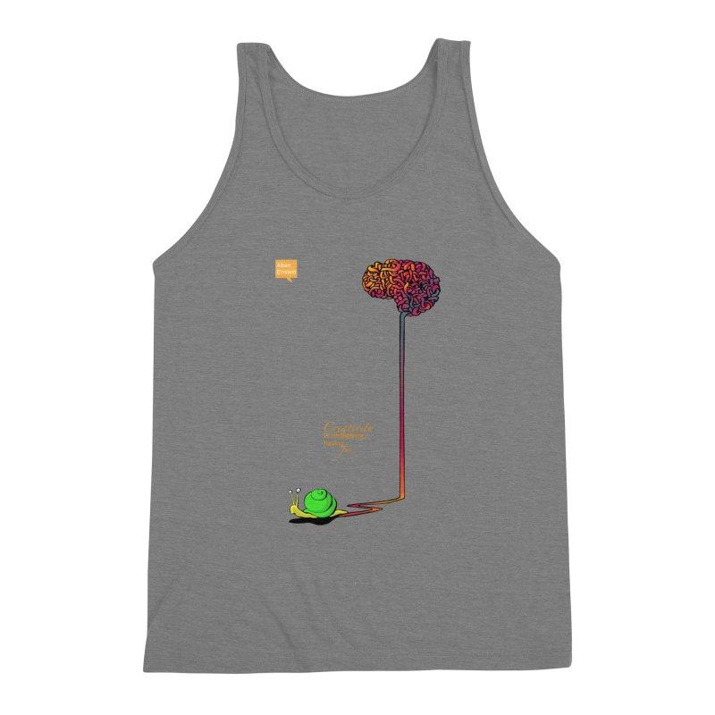 Creativity is Intelligence having fun Men's Triblend Tank by filsoofdesigns's Artist Shop