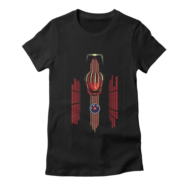 Women's Fitted T-Shirt by filsoofdesigns's Artist Shop