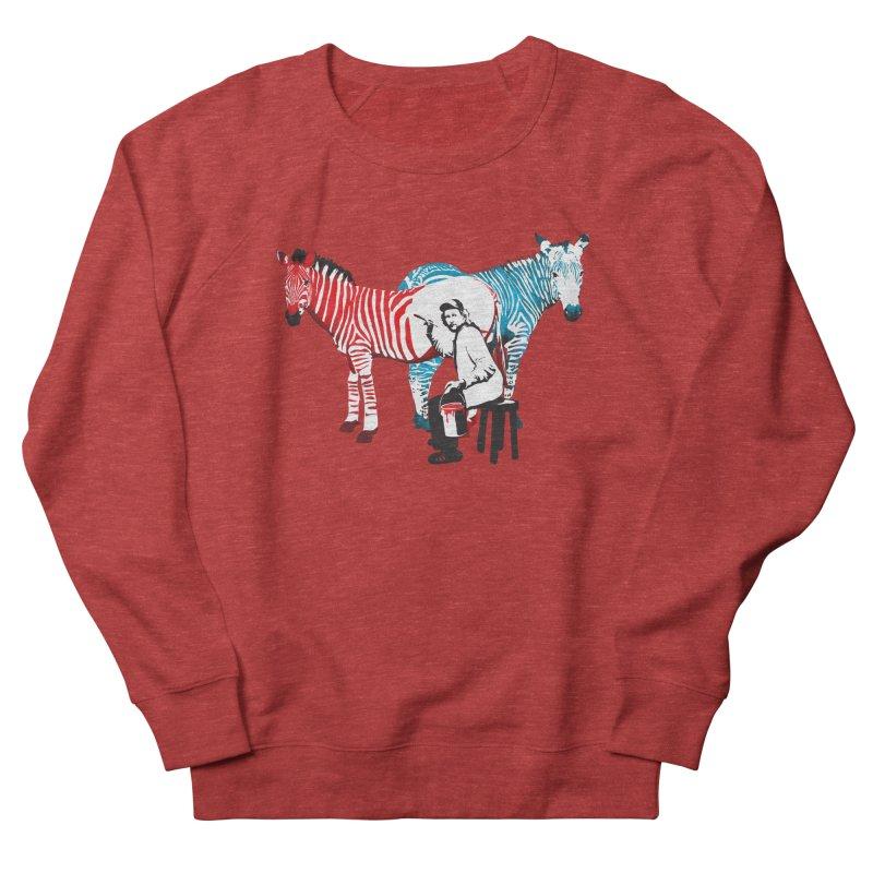Rembrandt the zebra painter Women's Sweatshirt by filsoofdesigns's Artist Shop