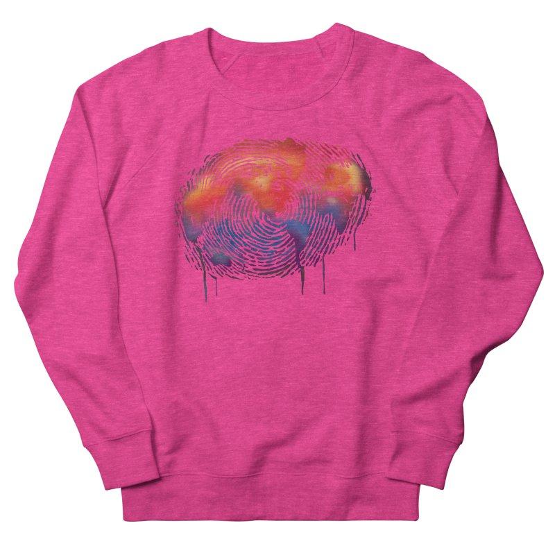 Global Fingerprint Men's Sweatshirt by filsoofdesigns's Artist Shop