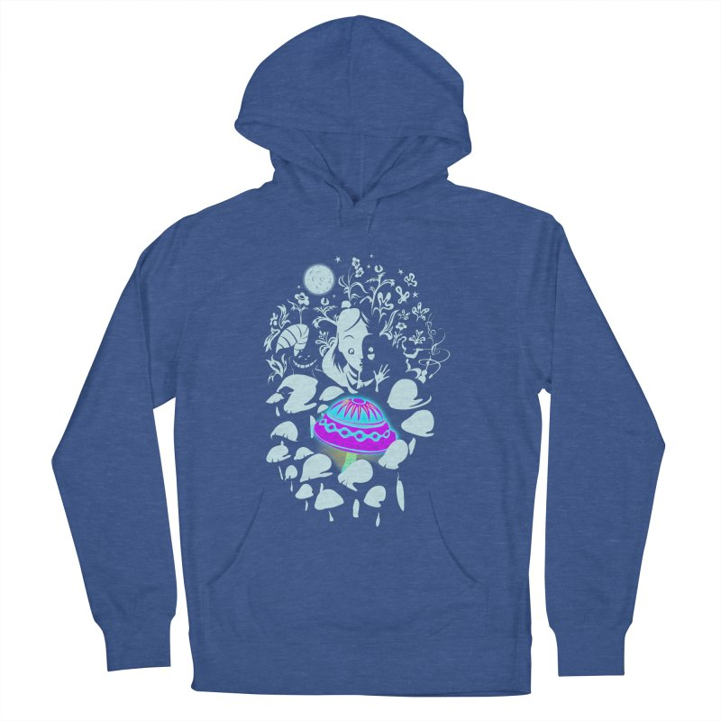 Alice in Fungi-land Women's Pullover Hoody by filsoofdesigns's Artist Shop