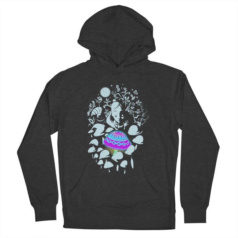 Alice in Fungi-land Men's Pullover Hoody by filsoofdesigns's Artist Shop