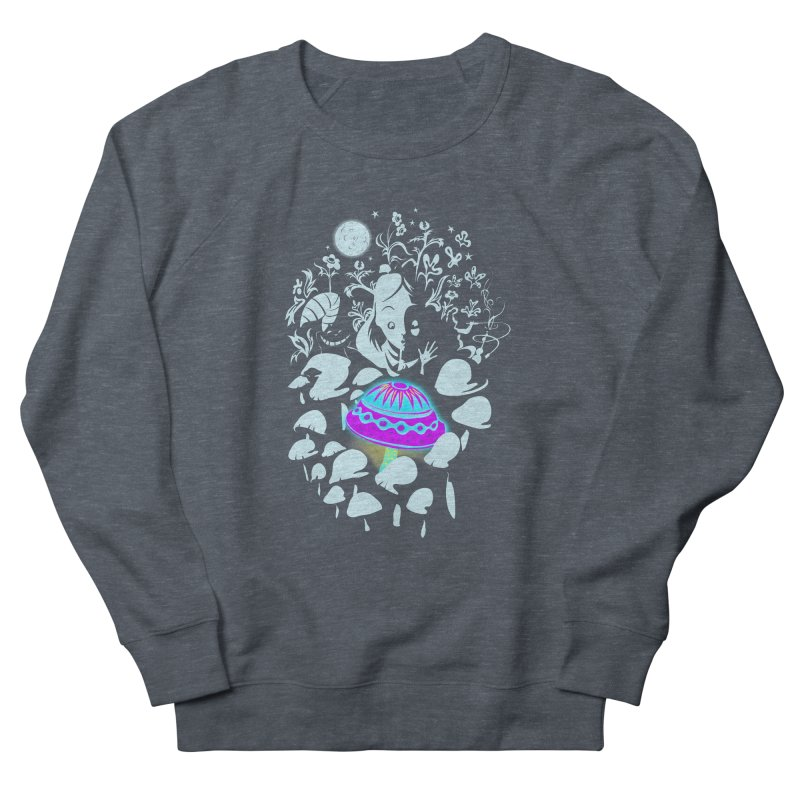 Alice in Fungi-land Women's Sweatshirt by filsoofdesigns's Artist Shop
