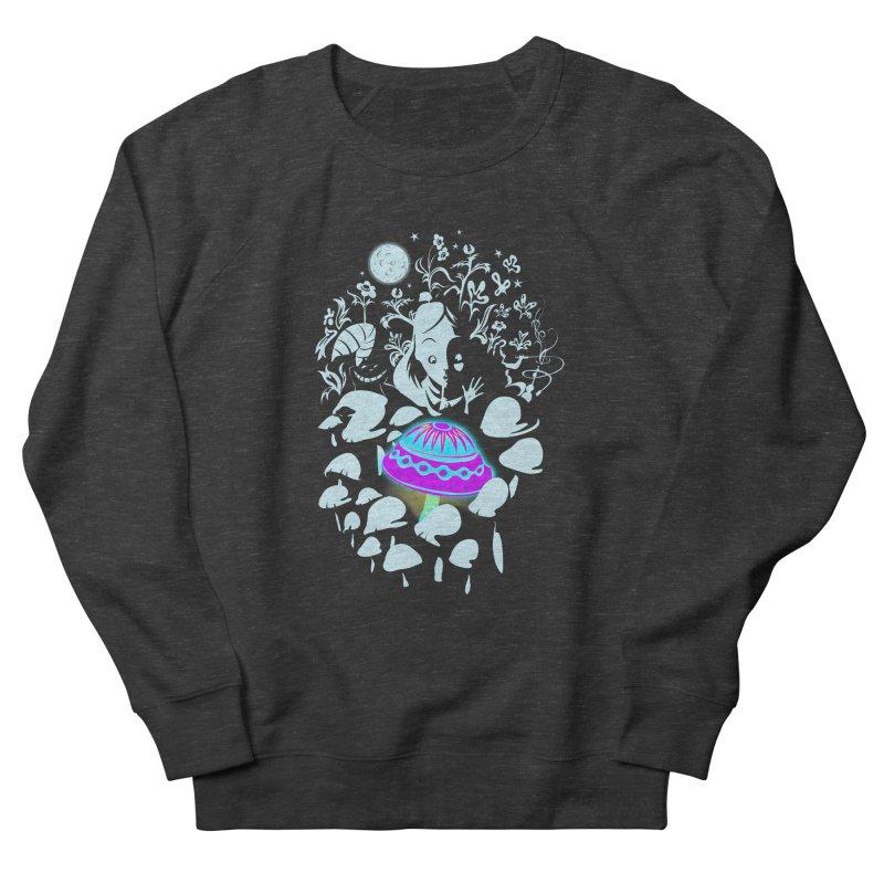 Alice in Fungi-land Men's Sweatshirt by filsoofdesigns's Artist Shop