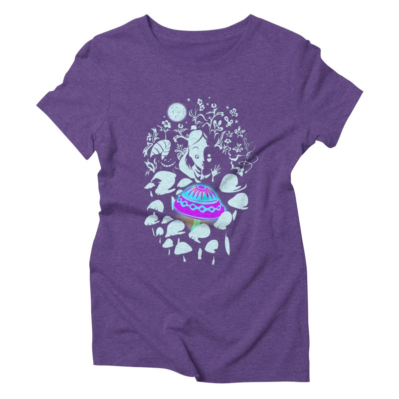 Alice in Fungi-land   by filsoofdesigns's Artist Shop
