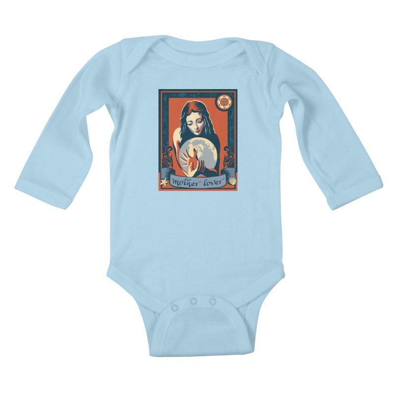Kids Baby Longsleeve Bodysuit by filsoofdesigns's Artist Shop