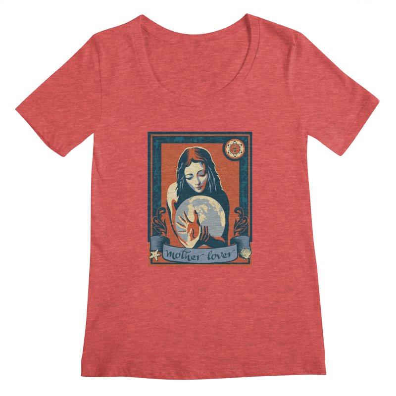 Women's Scoopneck by filsoofdesigns's Artist Shop