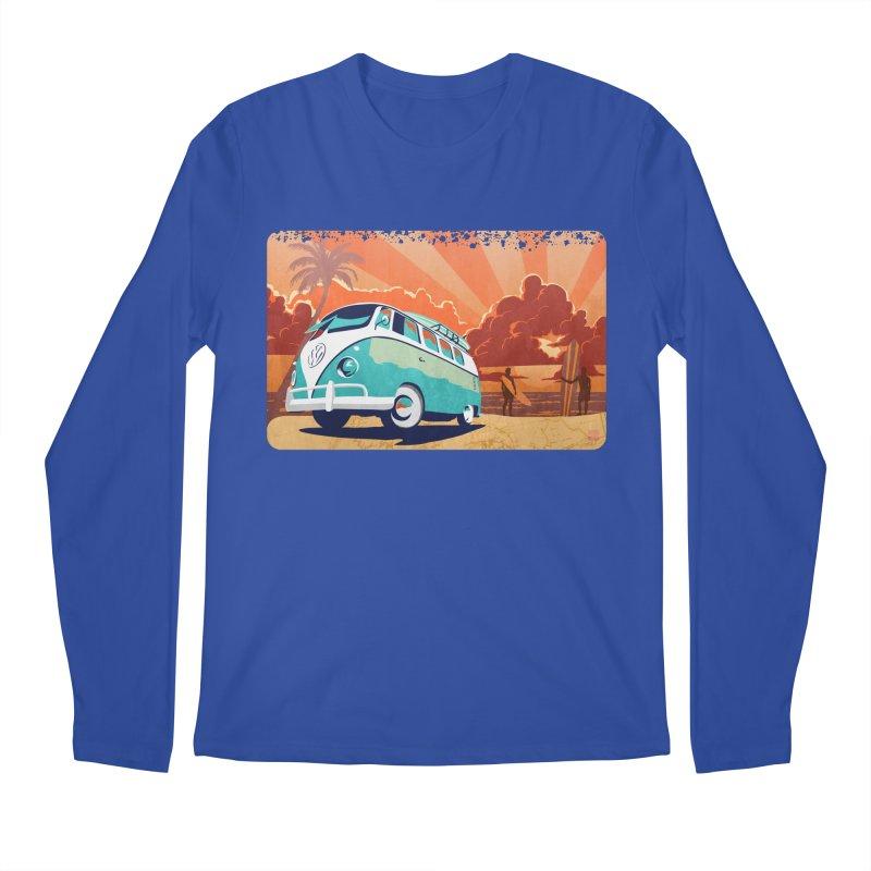 Endless Kombi Summer  Men's Longsleeve T-Shirt by filsoofdesigns's Artist Shop