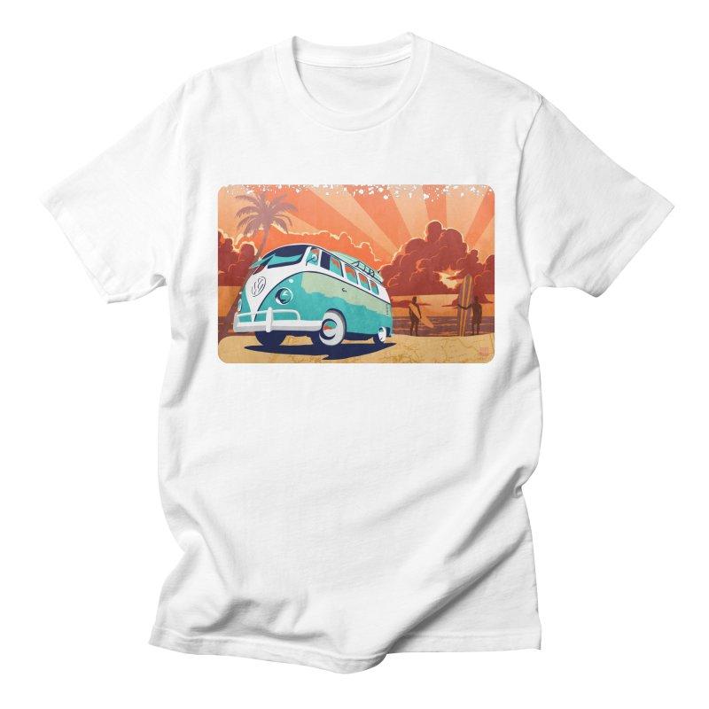 Endless Kombi Summer  Men's T-Shirt by filsoofdesigns's Artist Shop