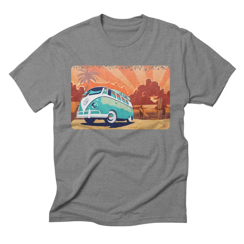Endless Kombi Summer  Men's Triblend T-shirt by filsoofdesigns's Artist Shop