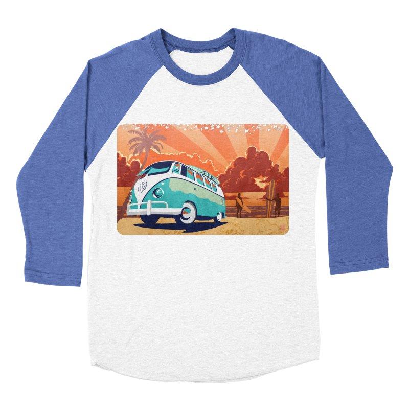Endless Kombi Summer  Women's Baseball Triblend T-Shirt by filsoofdesigns's Artist Shop