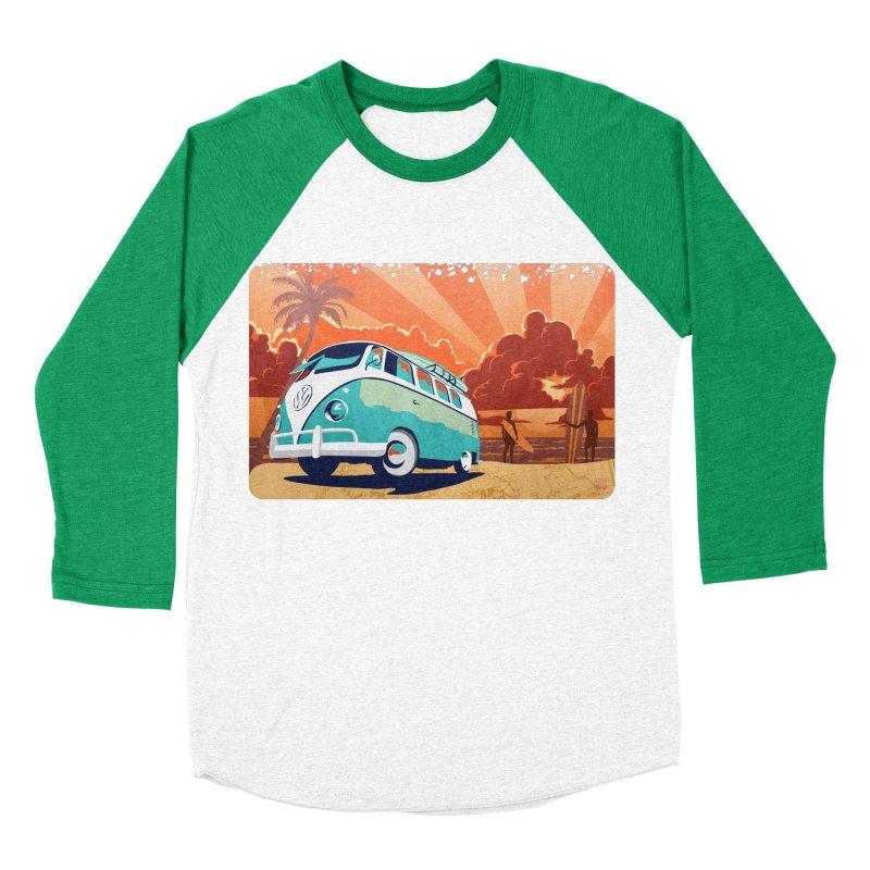 Endless Kombi Summer  Men's Baseball Triblend T-Shirt by filsoofdesigns's Artist Shop