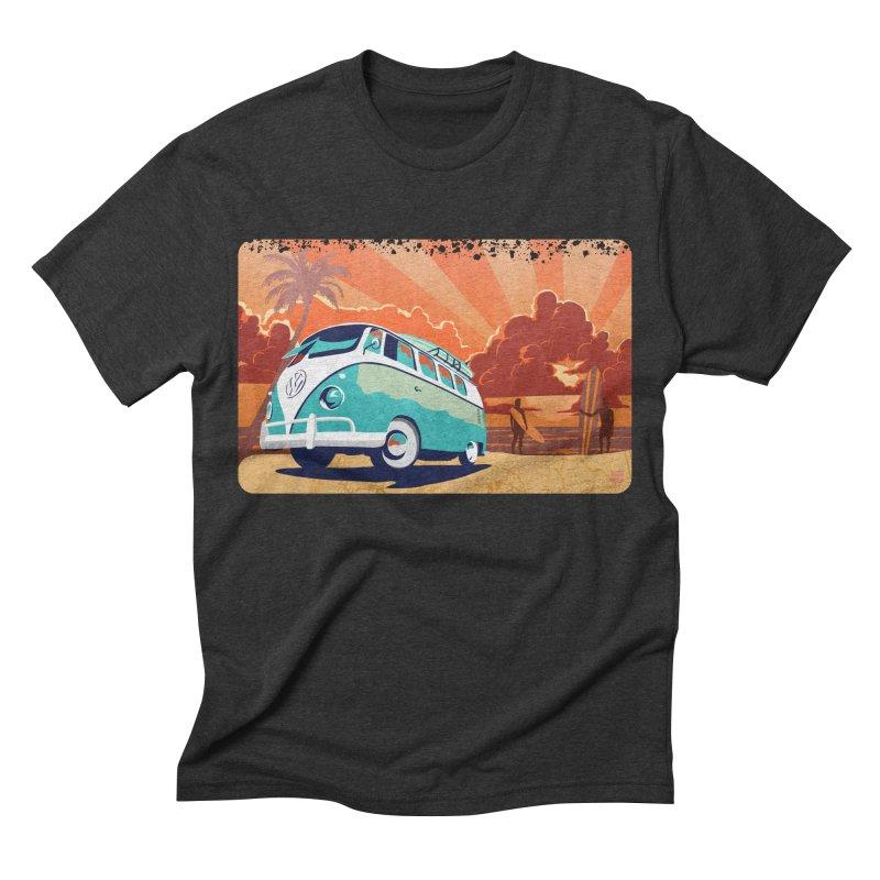 Endless Kombi Summer  Men's Triblend T-shirt by filsoofdesigns's Artist Shop