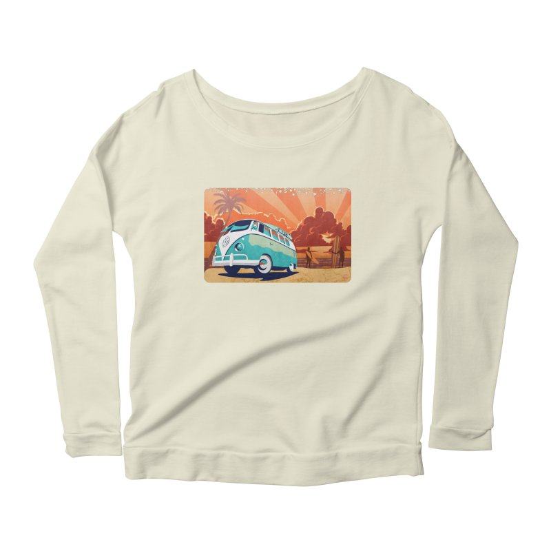 Endless Kombi Summer  Women's Longsleeve Scoopneck  by filsoofdesigns's Artist Shop