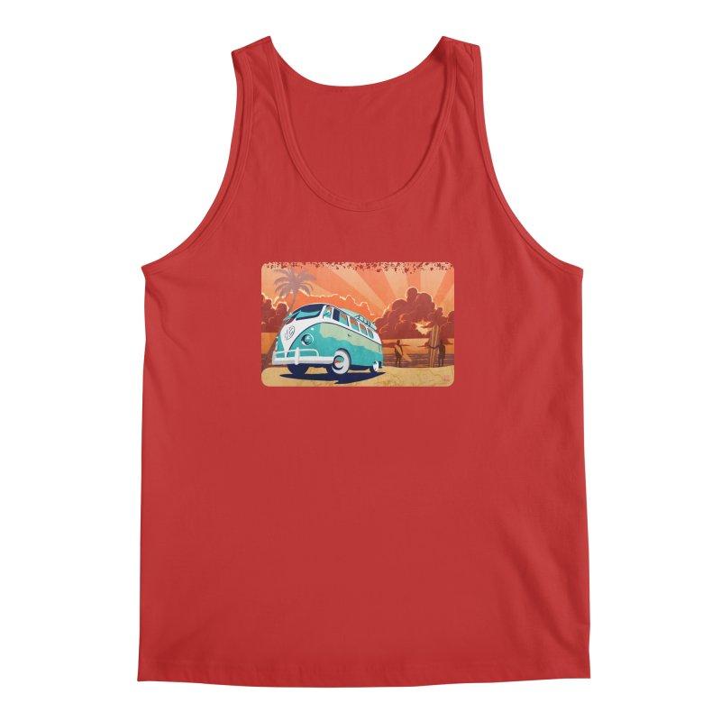 Endless Kombi Summer  Men's Tank by filsoofdesigns's Artist Shop