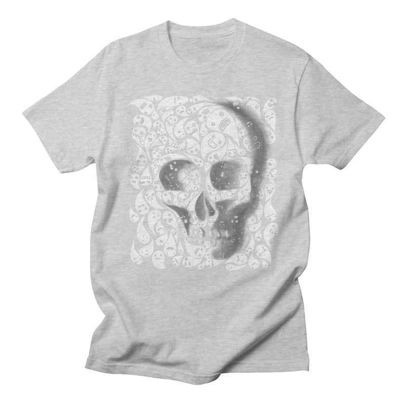 skull doodles Men's T-Shirt by filsoofdesigns's Artist Shop