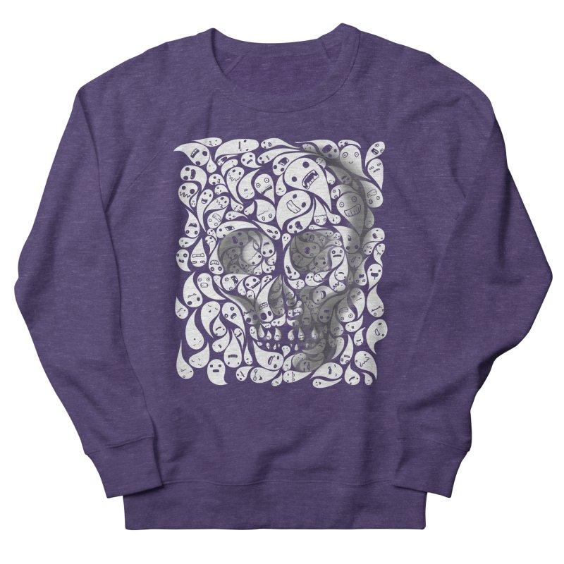 skull doodles Men's Sweatshirt by filsoofdesigns's Artist Shop