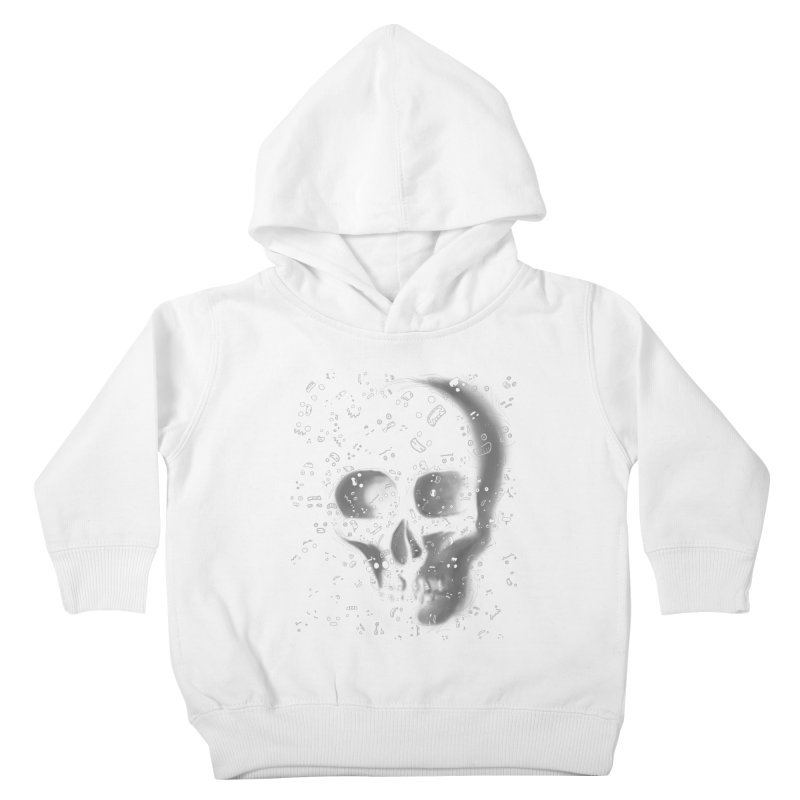 skull doodles Kids Toddler Pullover Hoody by filsoofdesigns's Artist Shop