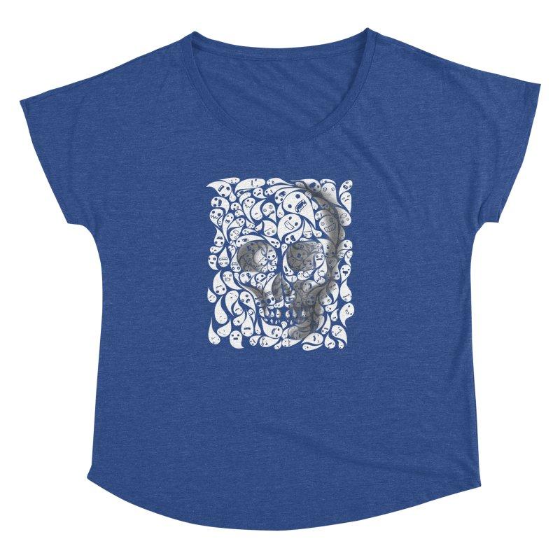 skull doodles Women's Dolman by filsoofdesigns's Artist Shop