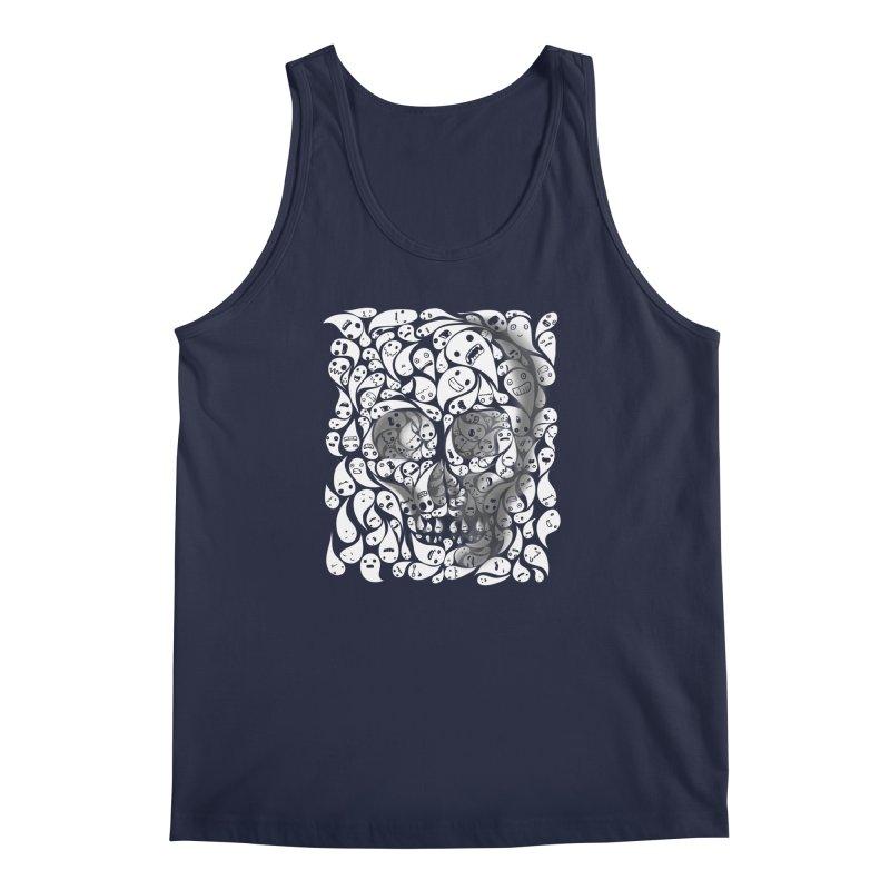 skull doodles Men's Tank by filsoofdesigns's Artist Shop