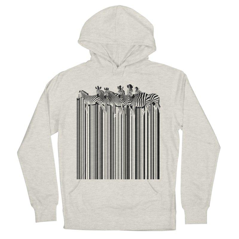 zebra barcode Men's Pullover Hoody by filsoofdesigns's Artist Shop